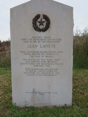 Lafitte's Grove Marker image. Click for full size.
