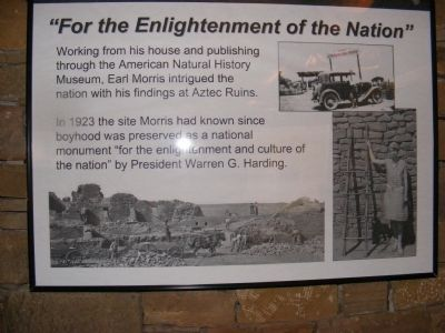 """For the Enlightenment of the Nation"" Marker image. Click for full size."