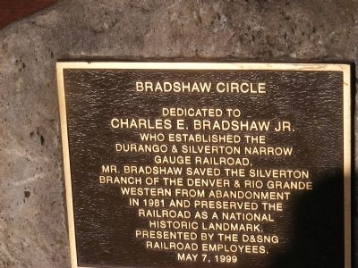 Bradshaw Circle Marker image. Click for full size.