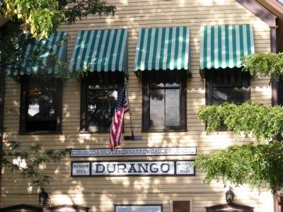 Durango and Silverton Railway Station image. Click for full size.