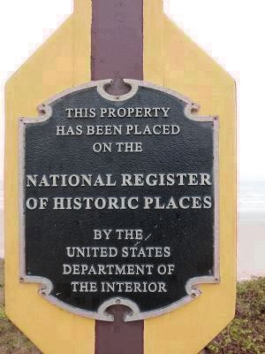 Balinese National Register of Historic Places Plaque image. Click for full size.