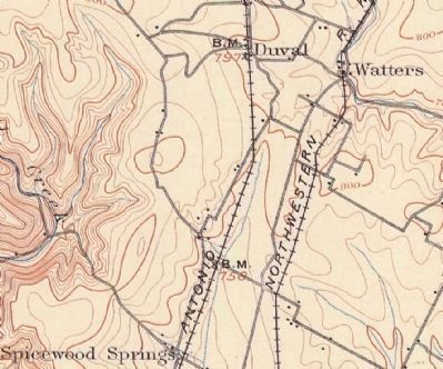 1902 USGS map of Austin image. Click for full size.