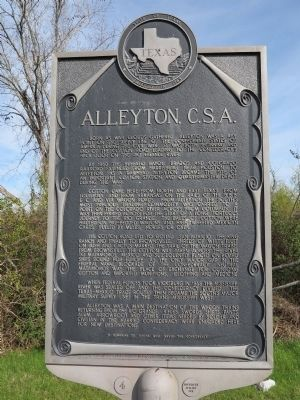 Alleyton C.S.A. Marker image. Click for full size.