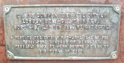 Demi-culverin Cannon Marker image. Click for full size.