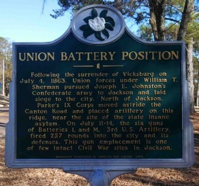 Union Battery Position Marker image. Click for full size.