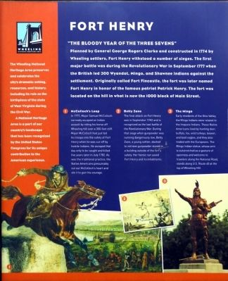 Fort Henry Marker image. Click for full size.