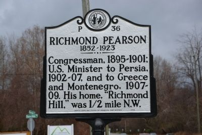 Richmond Pearson Marker image. Click for full size.