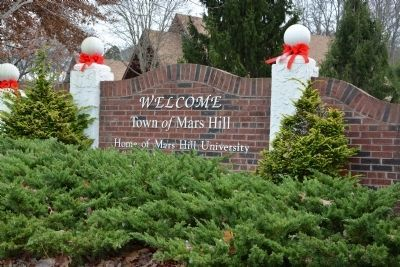 Town of Mars Hill image. Click for full size.