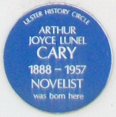 Arthur Joyce Lunel Cary Marker image. Click for full size.