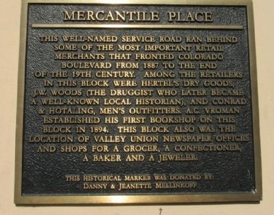 Mercantile Place Marker image. Click for full size.
