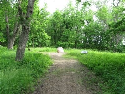 The Treaty of Traverse des Sioux Site image. Click for full size.
