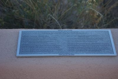 Cuarto Centenario Memorial Marker - Franciscan Friars image. Click for full size.
