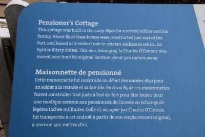 Pensioner's Cottage Marker image. Click for full size.
