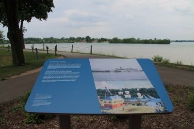 Detroit River Heritage Marker image. Click for full size.