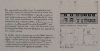 Marshall Hall Floor Plan image. Click for full size.