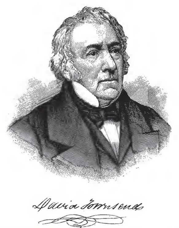 David Townsend from 1881 History of Chester County
