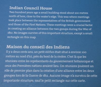 Indian Council House Marker image. Click for full size.