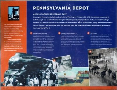 Pennsylvania Depot Marker image. Click for full size.