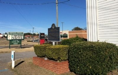 Robinson Springs United Methodist Church Area image. Click for full size.