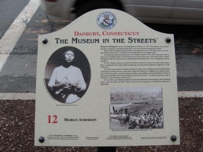 Marian Anderson Marker image. Click for full size.