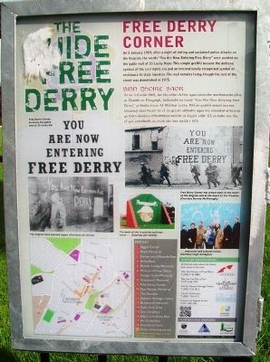 Free Derry Corner Marker image. Click for full size.