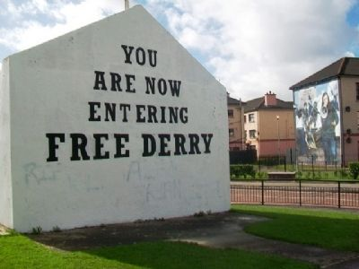 Free Derry Corner image. Click for full size.