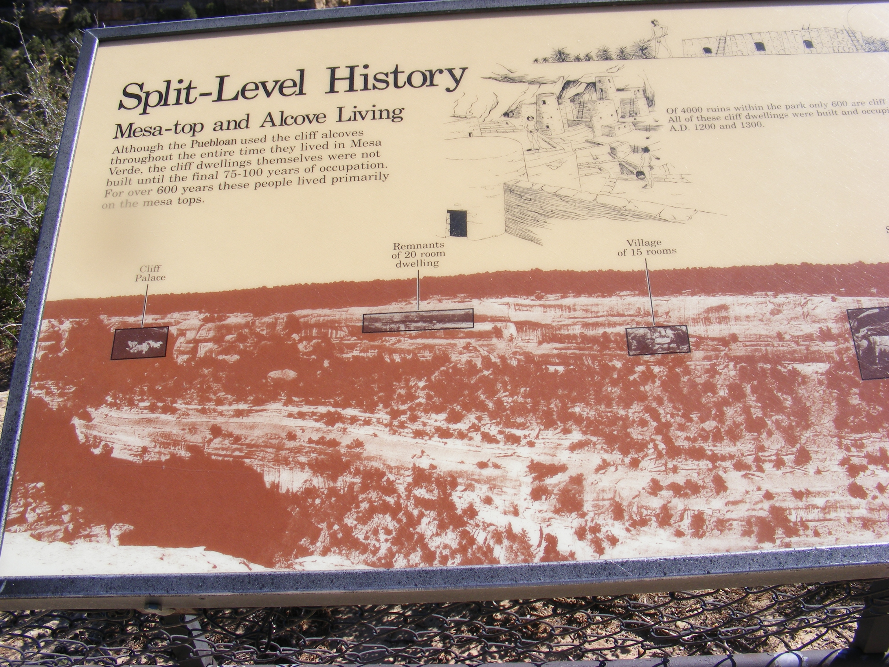Split-Level History Marker