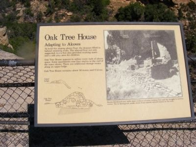 Oak Tree House Marker image. Click for full size.