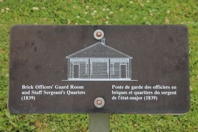 Brick Officers' Guard Room Marker image. Click for full size.