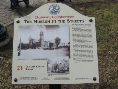 Old City Center Square Marker image. Click for full size.