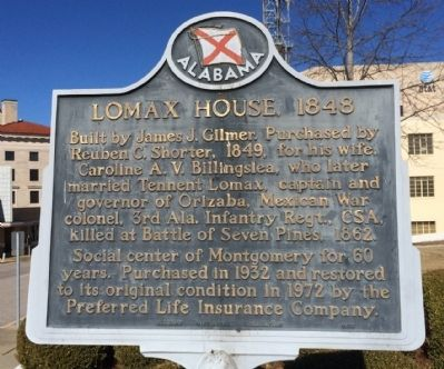 Lomax House, 1848 Marker image. Click for full size.