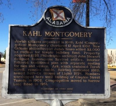 Kahl Montgomery Marker image. Click for full size.