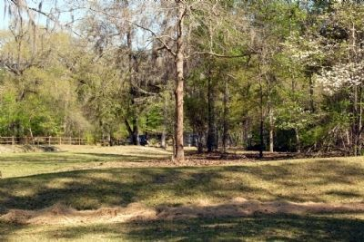 Confederate Fieldworks<br>at Battle of Natural Bridge image. Click for full size.