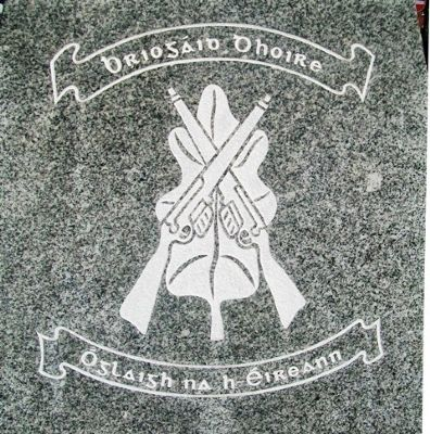 IRA Volunteers Emblem on Honor Roll image. Click for full size.