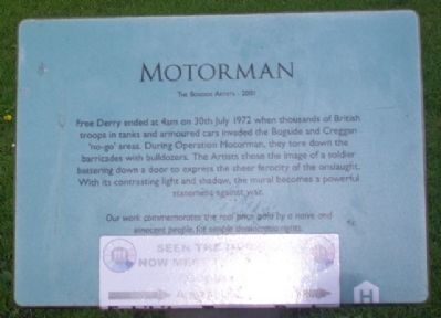 Motorman Marker image. Click for full size.