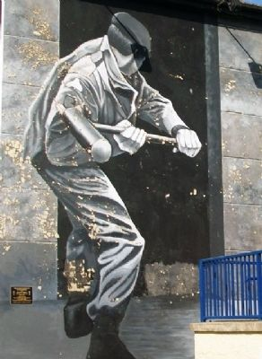 Motorman Mural image. Click for full size.
