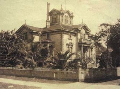 The Pardee House circa 1900 image. Click for full size.