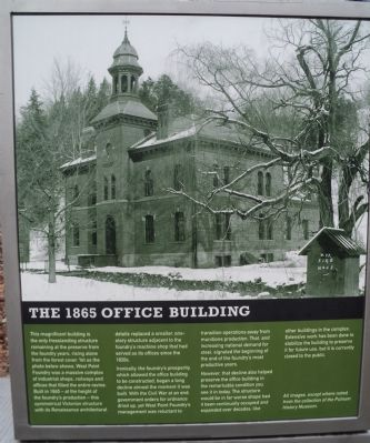 The 1865 Office Building Marker image. Click for full size.