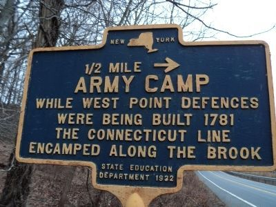 Army Camp Marker image. Click for full size.
