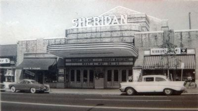 The Sheridan Theater showed <i>What a way to Go</i> in 1964. image. Click for full size.