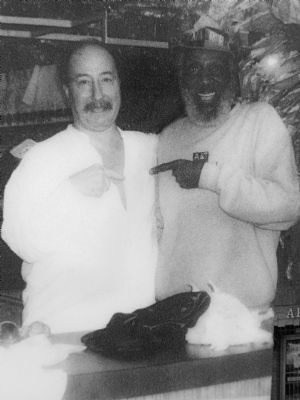 Dick Gregory and Billy Caludis image. Click for full size.