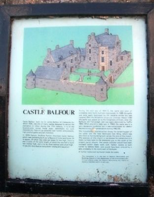 Castle Balfour Marker image. Click for full size.