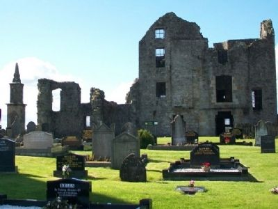 Castle Balfour Ruins at Holy Trinity Churchyard image. Click for full size.
