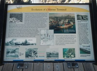 Evolution of a Marine Terminal Marker image. Click for full size.