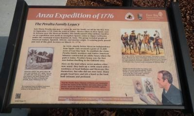Anza Expedition of 1776 Marker (English) image. Click for full size.