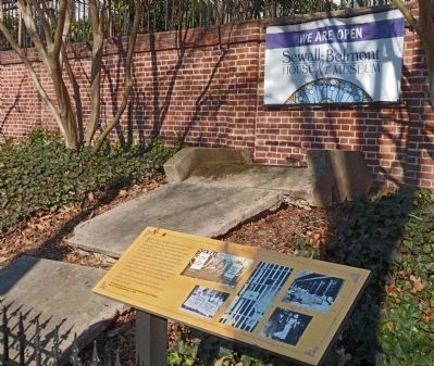 Marker in front of the Steps of the Occoquan Workhouse image. Click for full size.