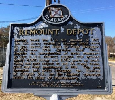 Remount Depot Marker image. Click for full size.