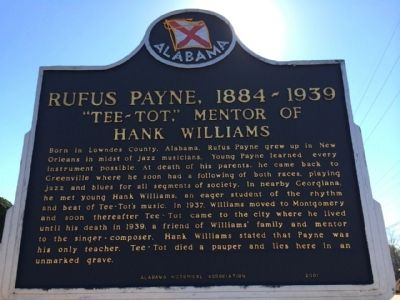 Rufus Payne, 1884-1939 Marker image. Click for full size.