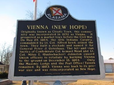 Vienna (New Hope) Marker image. Click for full size.