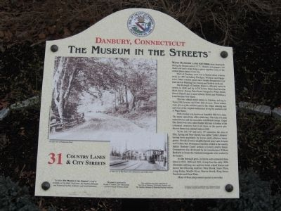 Country Lanes & City Streets Marker image. Click for full size.